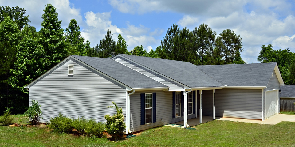 house with siding replaced near culpeper virginia