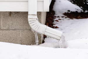 ice downspout